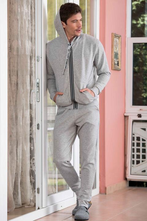 2'li İnterlok Erkek Pijama Takımı