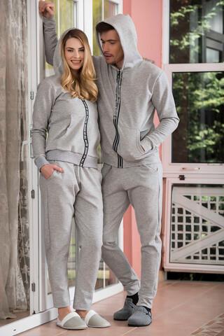 2'li İnterlok Erkek Pijama Takımı - Thumbnail