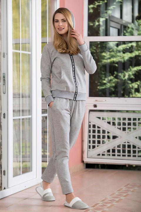 2'li İnterlok Kadın Pijama Takımı
