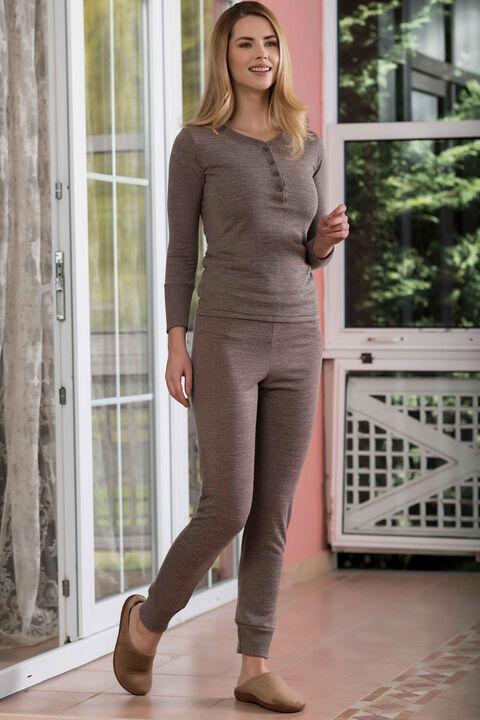 2'li Kaşkorse Kadın Pijama Takımı