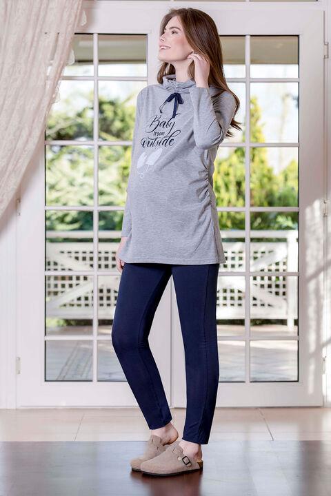 2'li Süprem Likralı Kadın Pijama Takımı