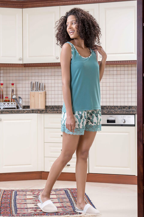 3'lü Viskon Kadın Pijama Takımı