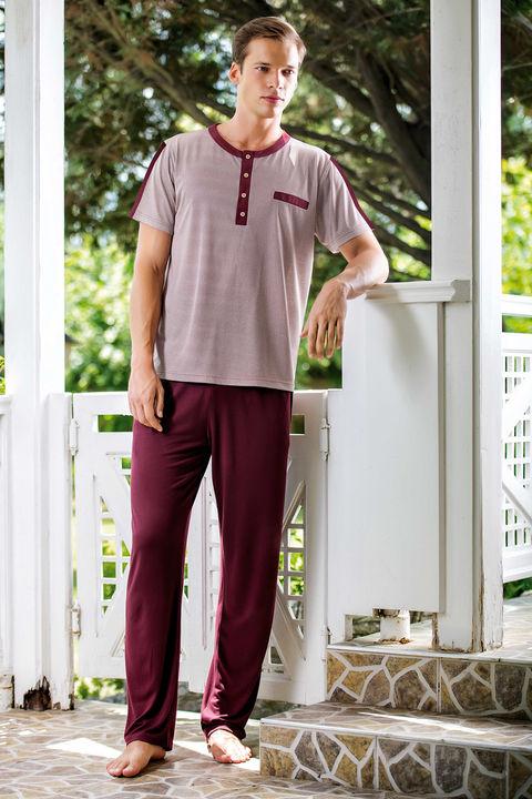 Erkek Pijama 3'lü Takım