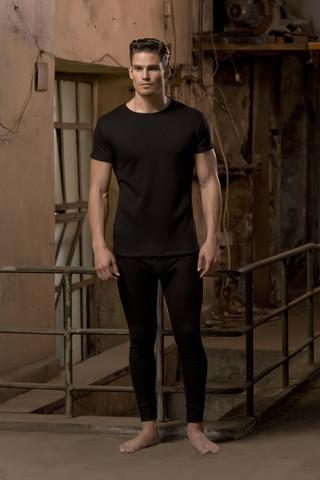 Erkek Termal Kısa Kollu T-shirt - Thumbnail