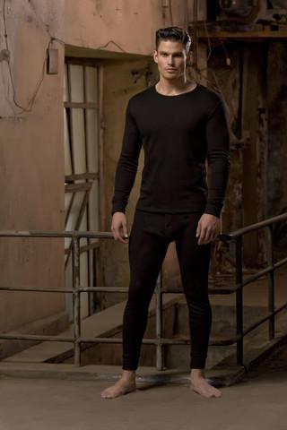 Erkek Termal Uzun Kollu T-shirt - Thumbnail