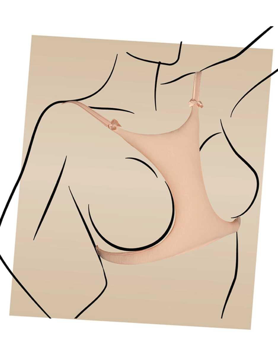 Göğüs Arası Kırışıklık Önleyici Sütyen