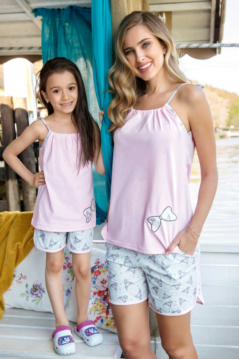 Kadın 2′li Süprem Pijama Takımı