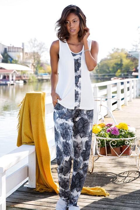Kadın 2′li Viskon Pijama Takımı