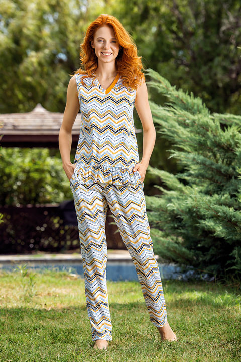 Kadın Pijama 3'lü Takım